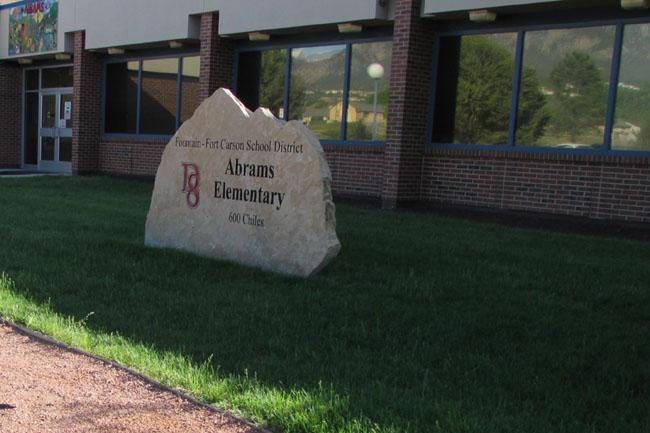 Abrams Elementary School Facade