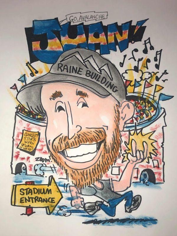 Raine Building Caricature -13
