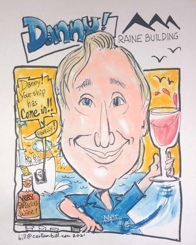 Raine Building Caricature -16
